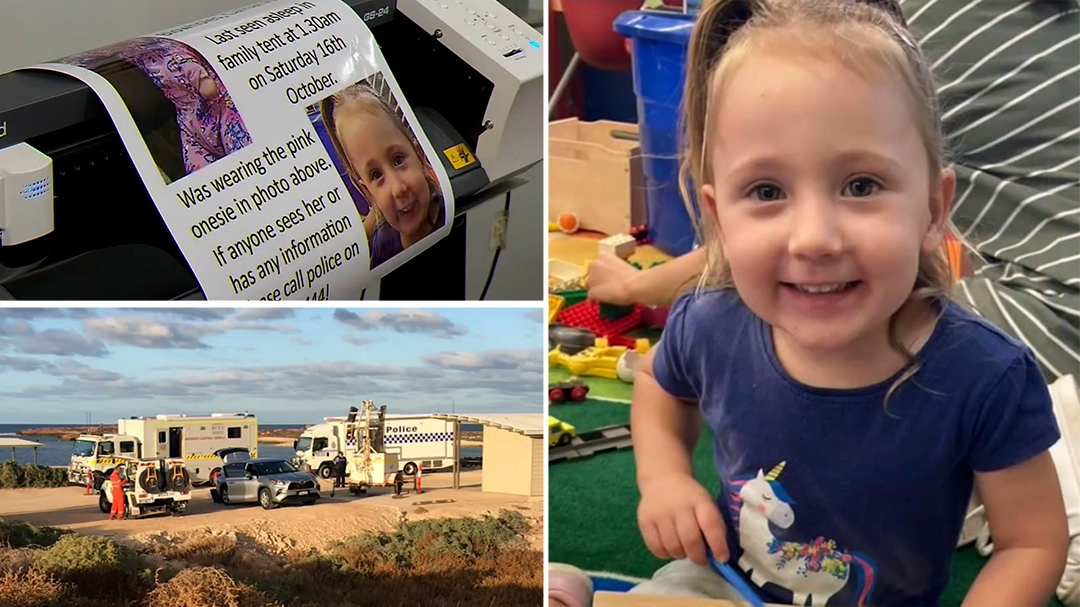 WA Police have new lead in hunt for missing toddler Cleo Smith