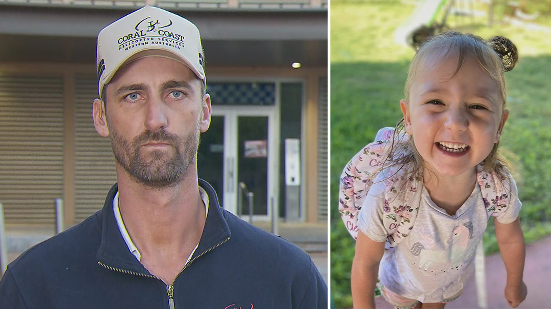 Chopper pilot admits search for Cleo not 'looking good'