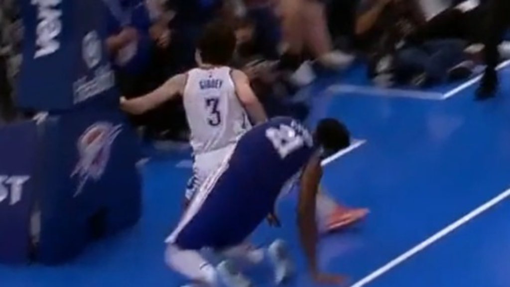 76ers commentator under fire for comments about Australian Josh Giddey