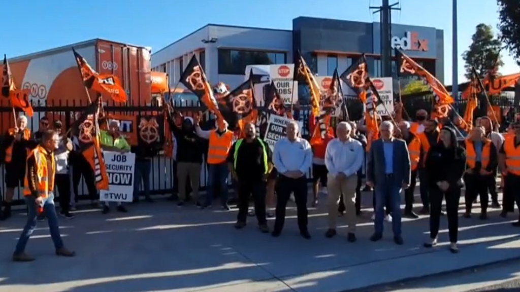 Parcel delivery delays expected with thousands of FedEx workers striking