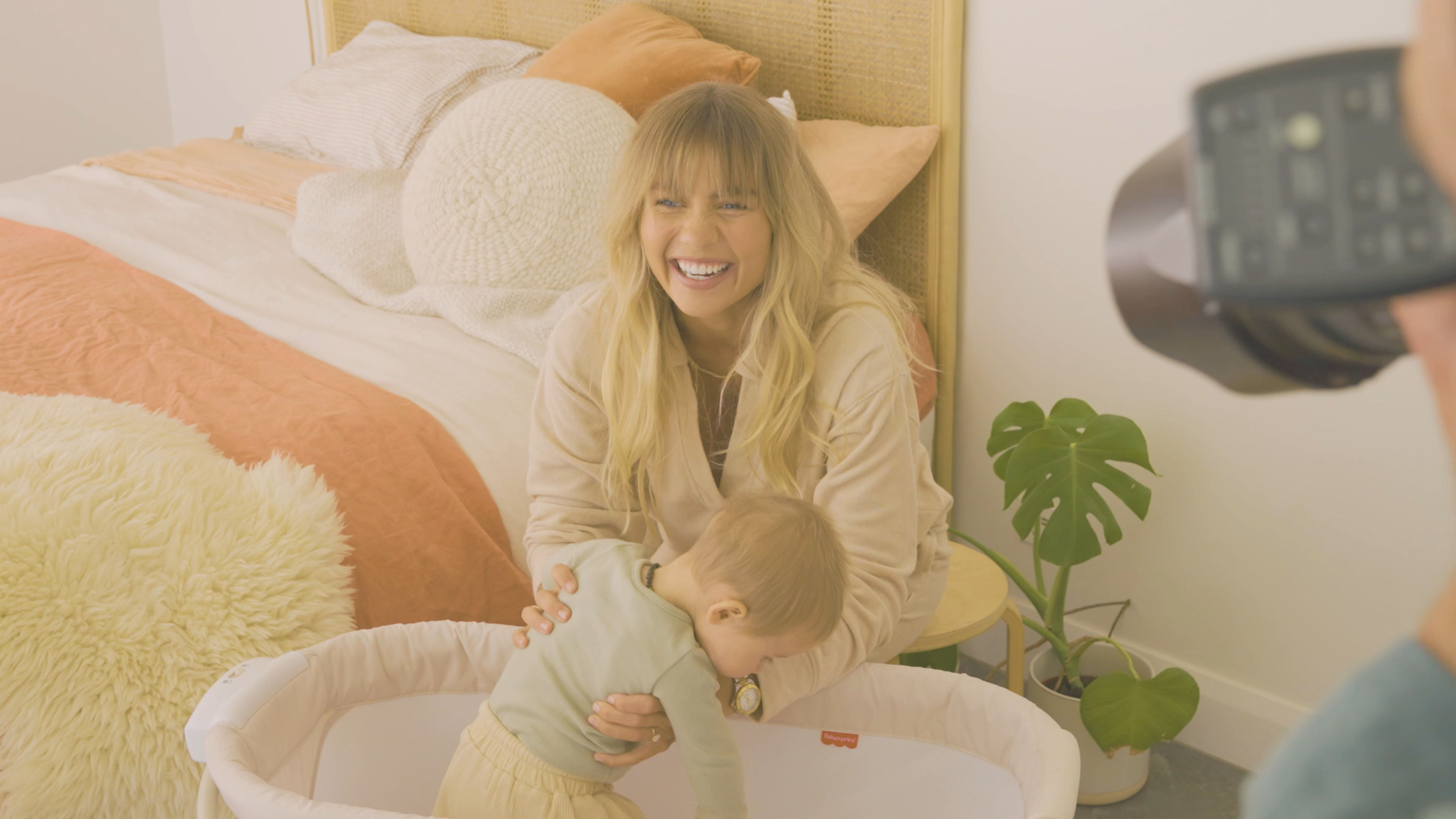 Elyse Knowles collaborates with Fisher Price on new baby range
