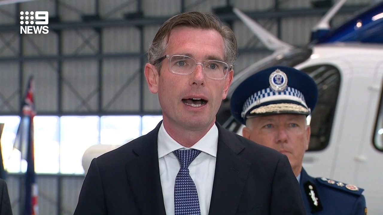 NSW Police Force unveil new high-tech helicopters