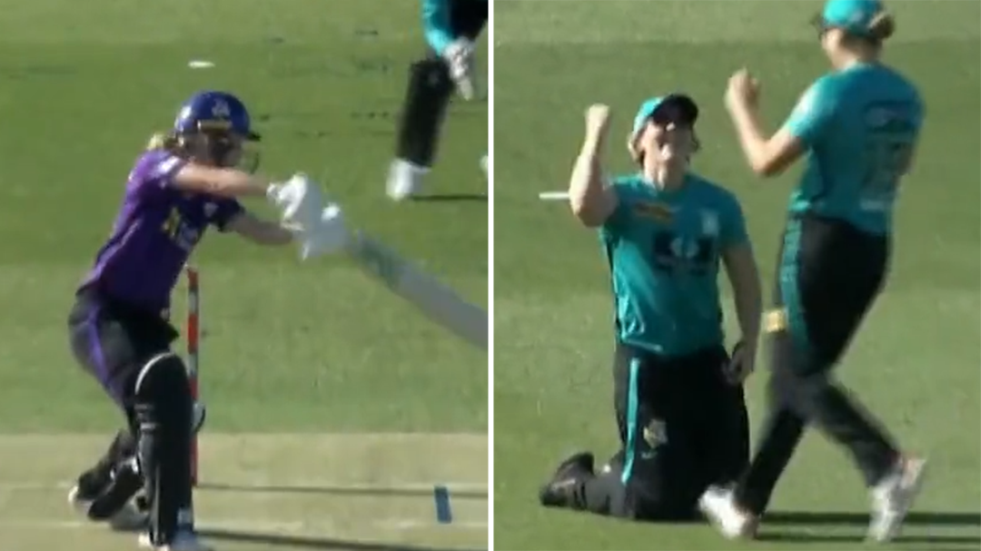 Laura Kimmince puts in a contender for WBBL catch of the summer