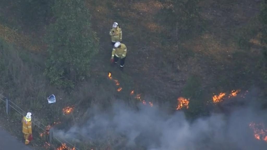 Firefighters battling blaze in Doonside