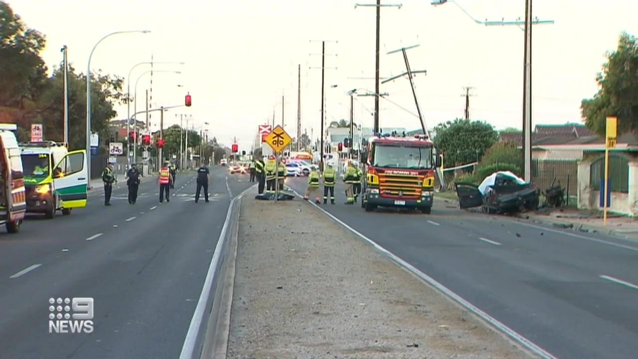 Man dies after fatal crash in Adelaide