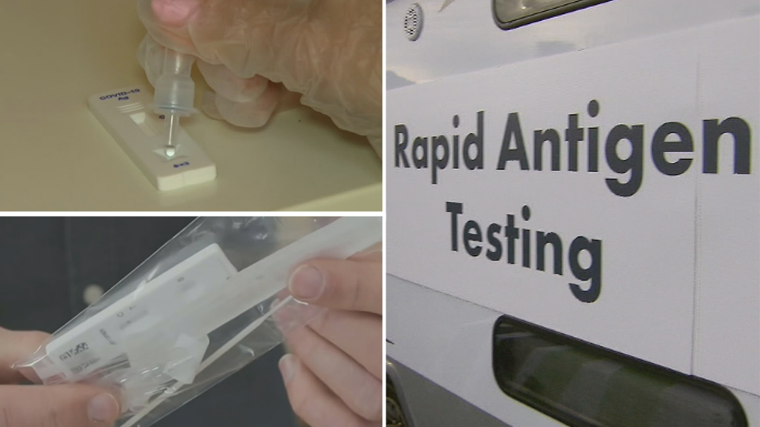 Rapid COVID-19 antigen tests available at supermarkets from next week