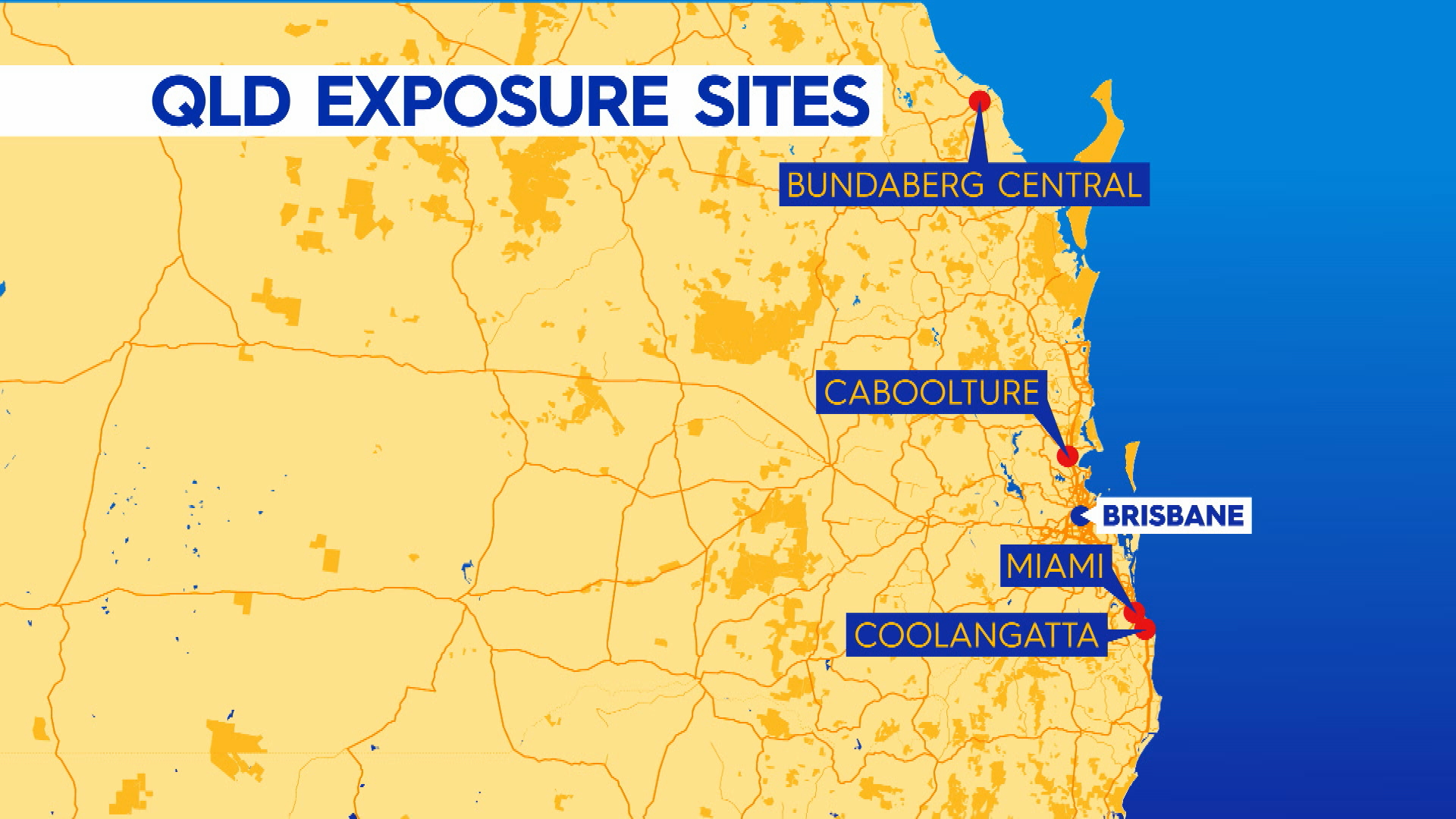 Queensland on COVID-19 alert with multiple new cases confirmed in the state