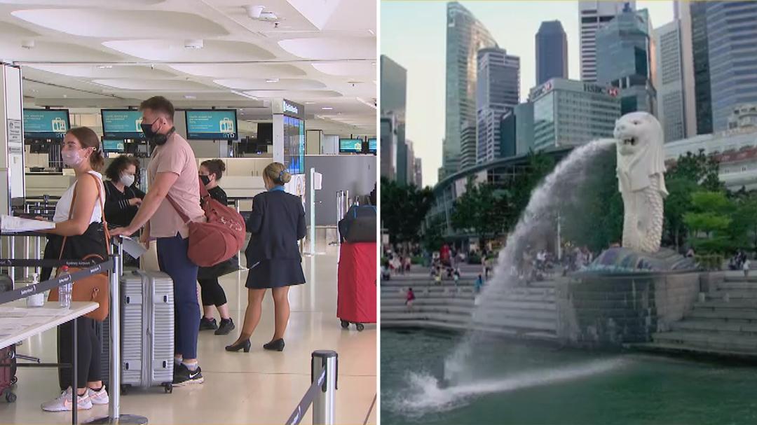 Singapore opens travel lane with Australia from November 8