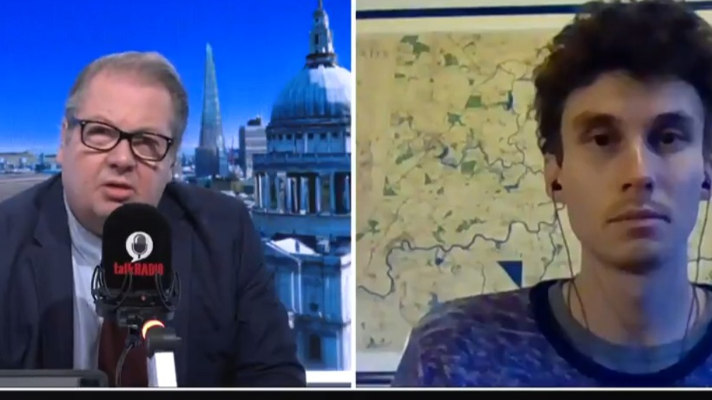 British broadcaster's interview goes viral over concrete comment