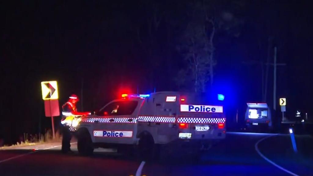 Teenager found dead after crashing into a pole at Cedar Creek, near Brisbane